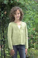 Picture of 2265 Girls Buttoned Cardigan