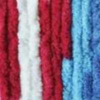 Picture of Bernat Blanket Brights Large - Red, White & Boom - NIL STOCK