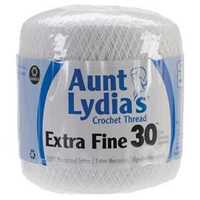 Picture of Extra Fine Crochet Thread Size 30 - White - NIL STOCK