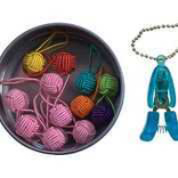Picture of Yarn Ball Stitch Markers & Tin Gift Set - NIL STOCK