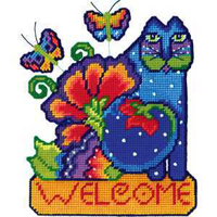 Picture of Feline Welcome - Wall Decor Kit - NIL STOCK