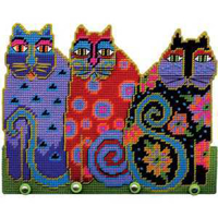Picture of Cat Trio - Wall Decor Kit - NIL STOCK