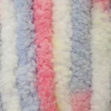 Picture of Small Baby Blanket - Pink & Blue Ombre - NIL STOCK
