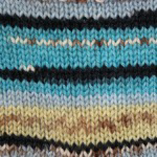 Picture of Kroy Socks - Turquoise Jacquard - IN STOCK